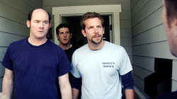 Bradley Cooper and David Koechner in Brother's Justice.